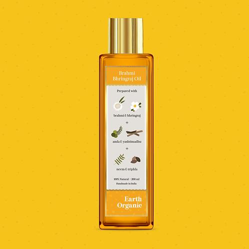 Organic Brahmi Bhringraj Oil