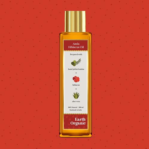 Organic Amla Hibiscus Hair & Body Oil 200ml