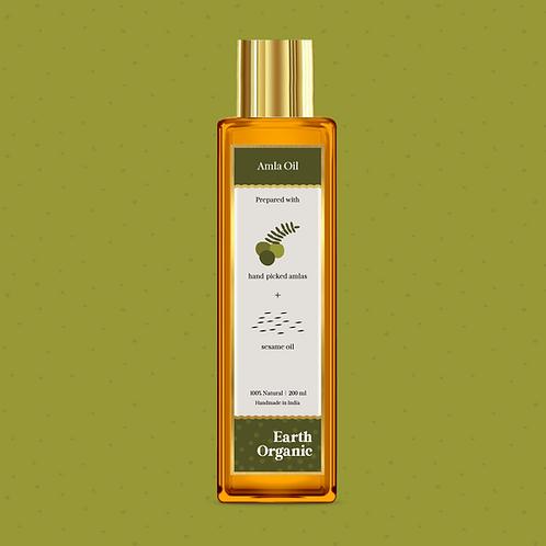 Organic Amla Oil for Hair & Body 200ML