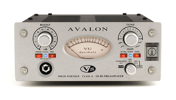 Avalon V5 Mono D.I./Preamp/Reamp