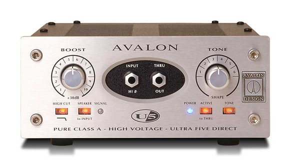 Avalon U5 Mono Instr. D.I. Preamp