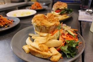 Creamy Chicken and Mushroom Pot Pie