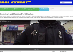 Polis Patrol Expert™ Web-Based Scenario Training System Launching at IACP This Week