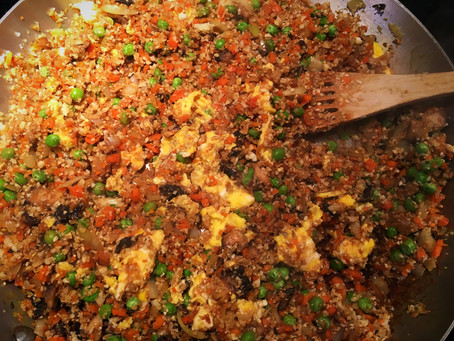 Chinese Food Craving? This Cauliflower Fried Rice Recipe Has You Covered