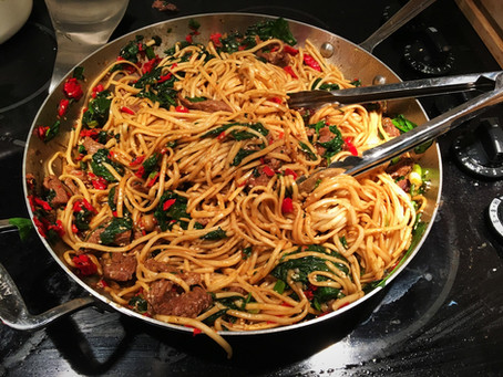 Try this Knock Your Socks Off Asian Beef & Udon Noodle Recipe