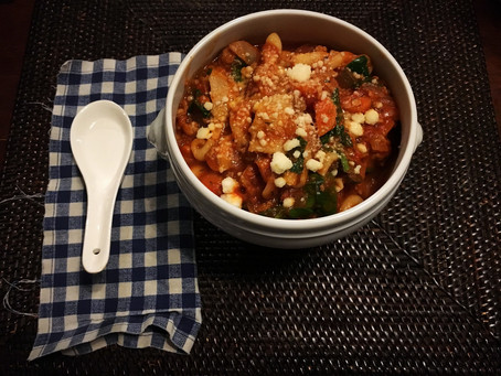 Get Your Slow Cooking On with this Hearty Lasagna Soup Recipe