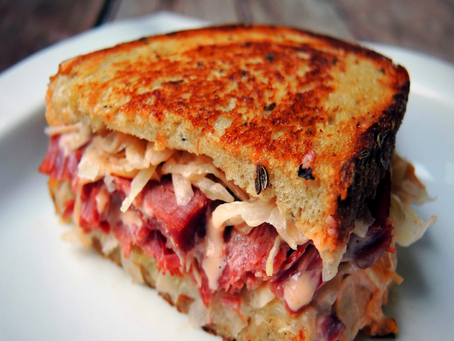 What?! A Reuben Recipe on a Nutrition Blog?!