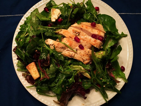 Do New Year's Resolutions Have You Eating Lots of Boring Chicken and Salads...A Grilled Chicken