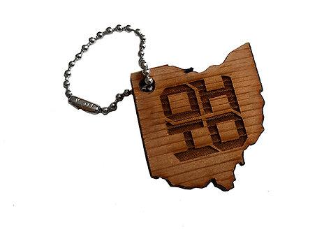 Block Ohio Keychain