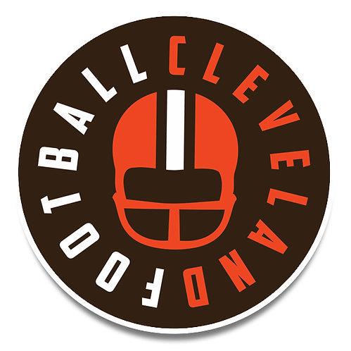 Cleveland Football Sticker