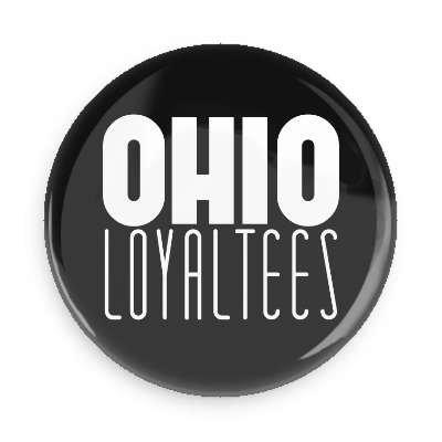 Ohio Loyal Tee Logo Button (Black)