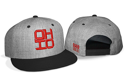 Black SnapBack Block Ohio
