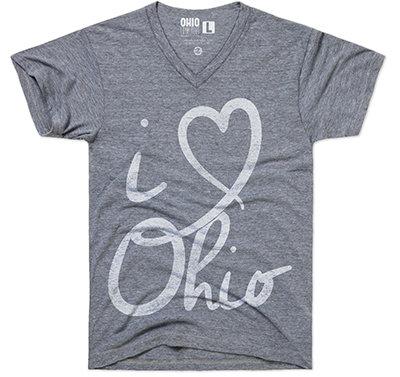 I HEART OHIO ( V-NECK)