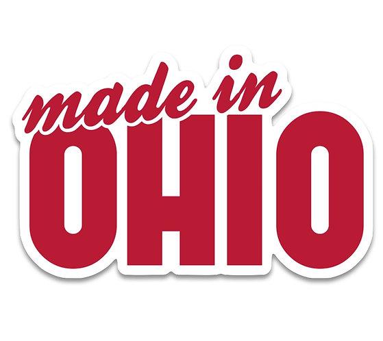 Made in Ohio Sticker