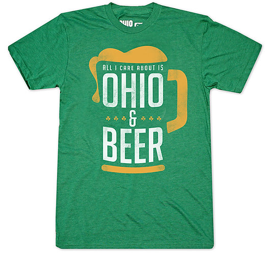 All I care about is OHIO & BEER