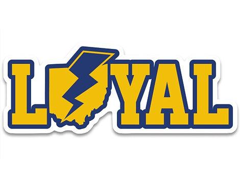 Loyal Kent State Sticker