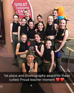 Amazing job Ready or Not! First place an