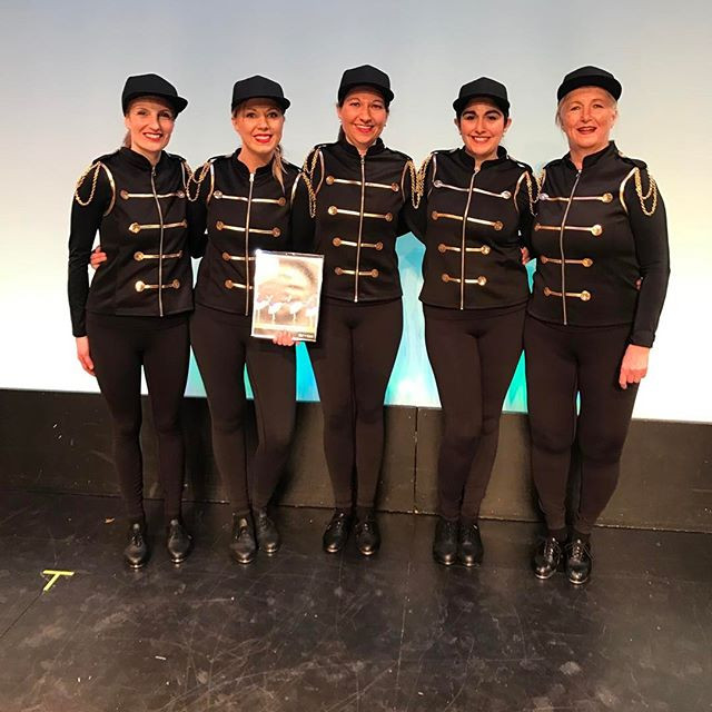 Choreography award for adult tap! Good j