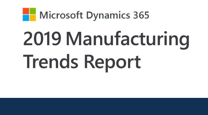 Microsoft Manufacturing Report