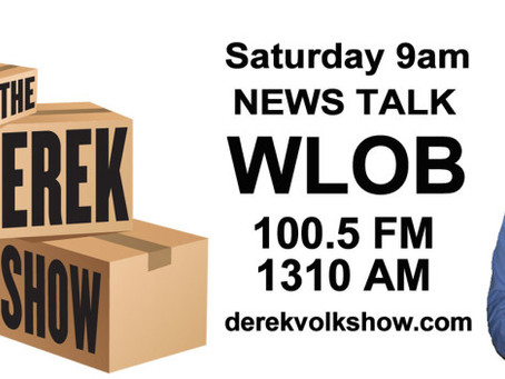 "Listen to Joe discuss ""Lean"" on The Derek Volk Show"