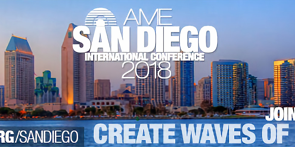 AME Conference 2018 San Diego