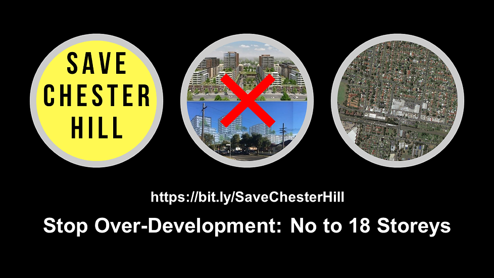 Save Chester Hill Banner No Over-Develop