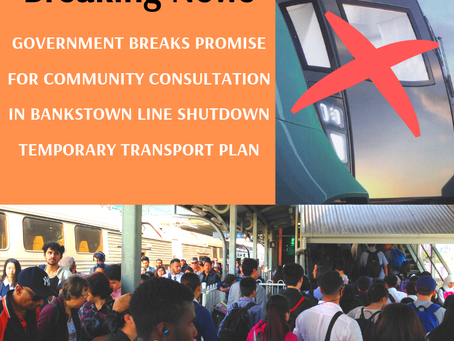 Government breaks promise for Community Consultation and delays release of Temporary Transport Plan