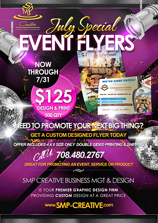 average cost of event flyers