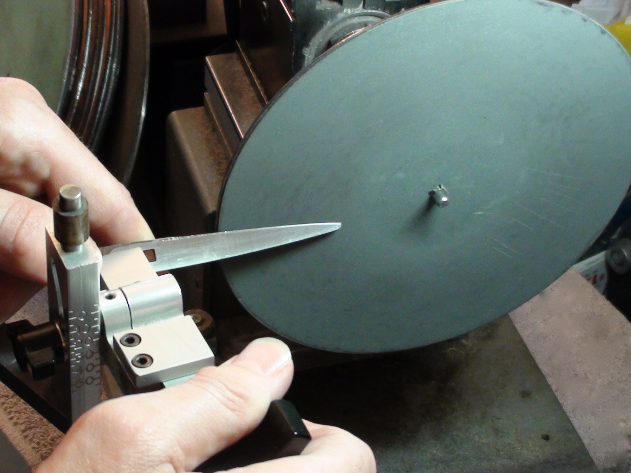 Shear Sharpening