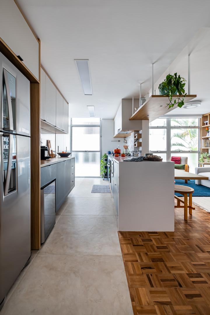 ap. itaim II - cozinha