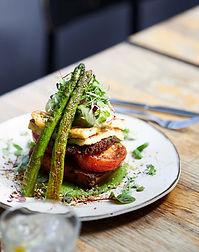 BIM_Shanklin Cafe_Grilled Asparagus and