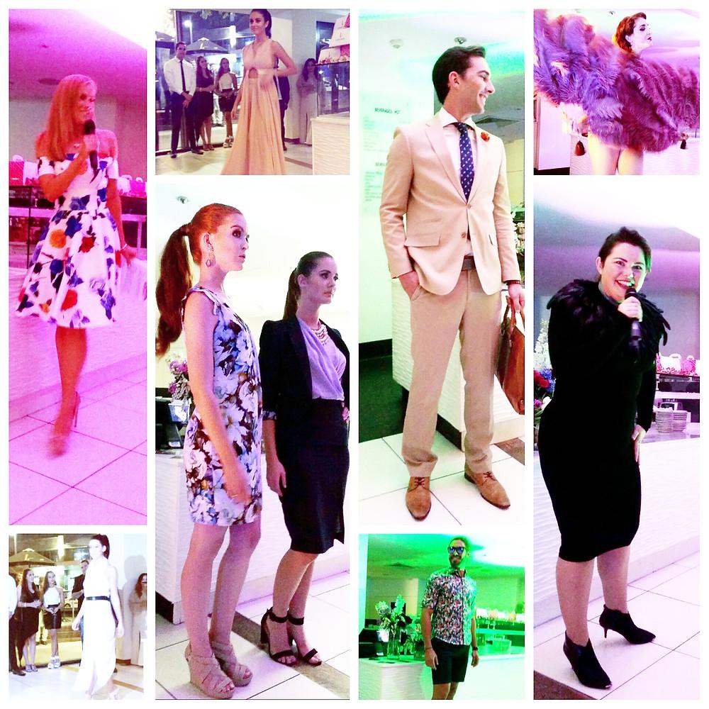 Hannah and the Jolie fashion show