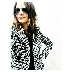 teachersontrend houndstooth kmart jacket