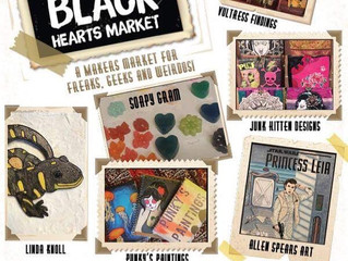 Black Hearts Market on Sept. 1st
