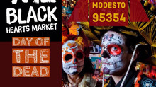 The Black Hearts Market Halloween/Day of the Dead