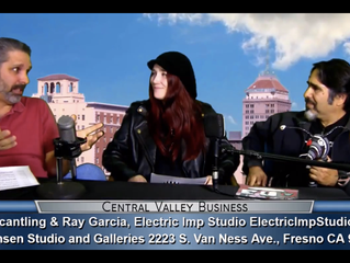 Electric Imp Studio guests on Central Valley Business