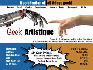 Geek Artistique: Art Hop!