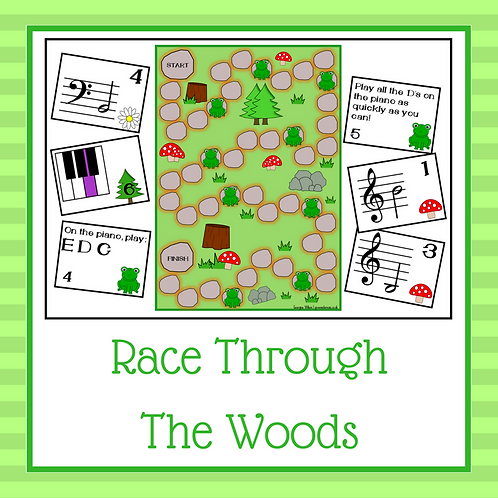 Race Through the Woods