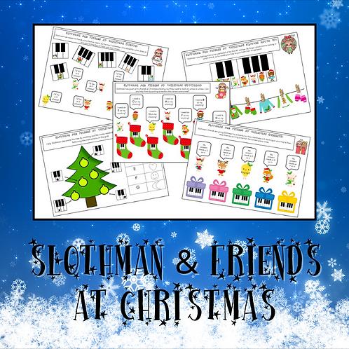 Slothman & Friends At Christmas