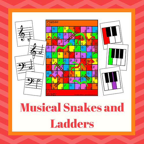 Music Snakes and Ladders