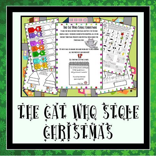 """The Cat Who Stole Christmas"" Musical Adventure Puzzle"