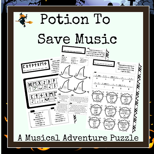 Potion to Save Music (A Musical Puzzle Adventure)