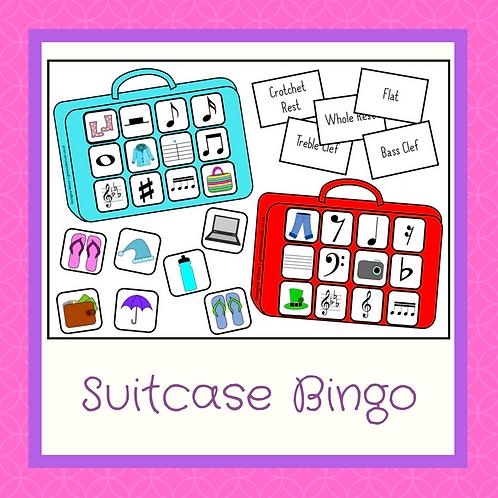 Suitcase Bingo