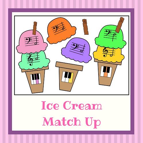 Ice Cream Match Up