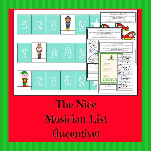 The Nice Musician List