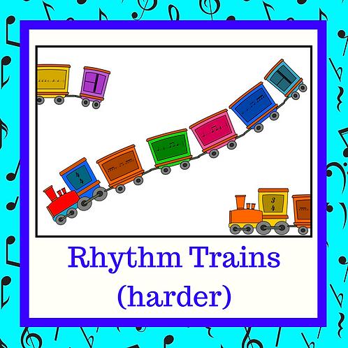 Rhythm Trains (Harder)