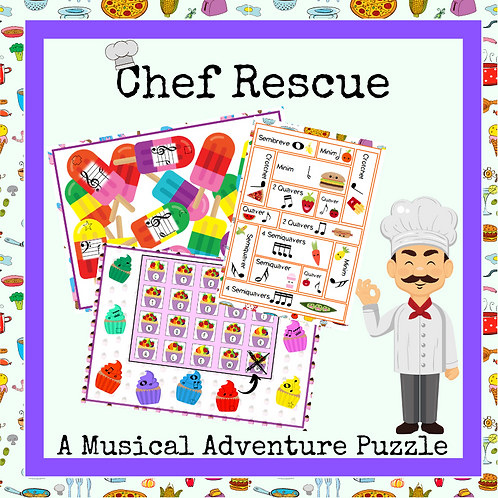 Chef Rescue (A Musical Puzzle Adventure)