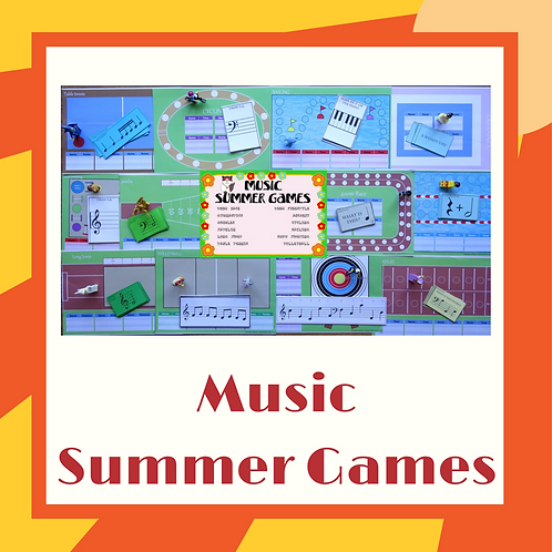 Summer Sports Music Games