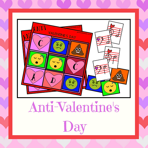 Anti-Valentine's Day Music Game