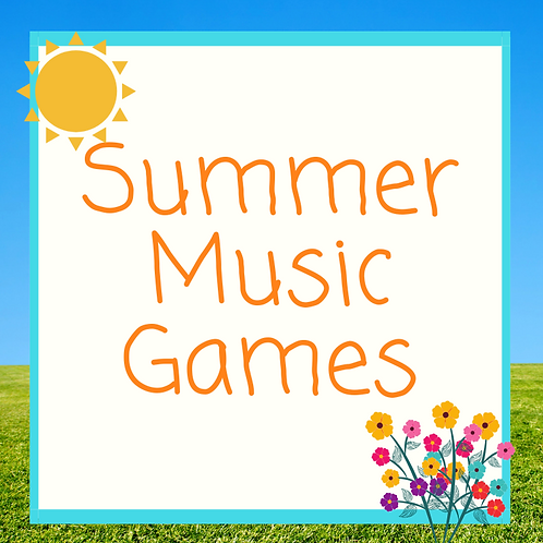 Pack of Summer Music Games